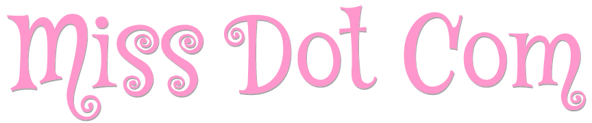 Drag Queen Miss Dot Com Logo